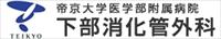 帝京大学附属病院下部消化管外科